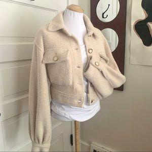 Soft Knit Crop Jacket